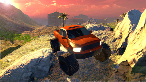 Off road Truck Simulator: Tropical Cargo modiapk screenshots 1
