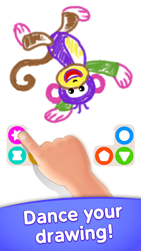 Toddler coloring apps for kids! Drawing games! screenshots 12
