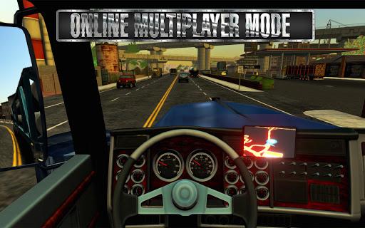 Truck Simulator USA  APK MOD (Astuce) screenshots 3