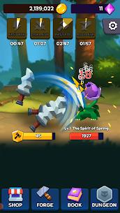 Sword Clicker Mod Apk: Idle Clicker (Unlimited Gold) Download 4