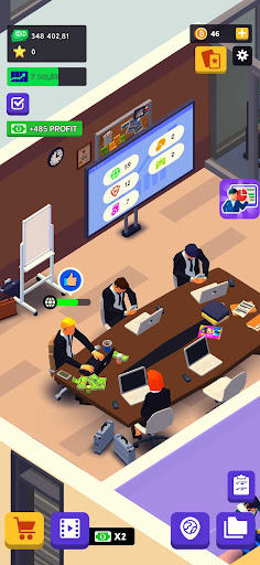 IT Corp Tycoon - Business Management androidhappy screenshots 2