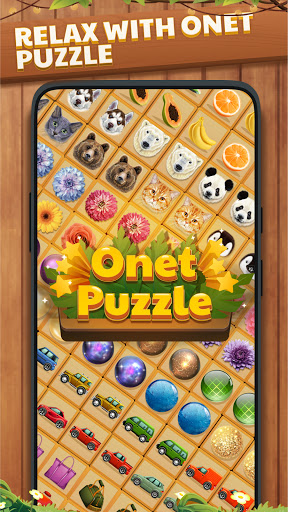 Onet Puzzle - Free Memory Tile Match Connect Game  screenshots 1