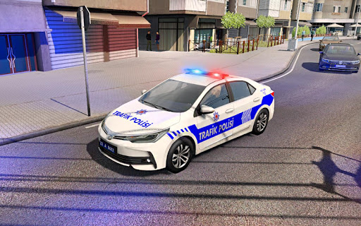 Police Car Spooky Stunt Parking: Extreme driving 1.1 screenshots 1