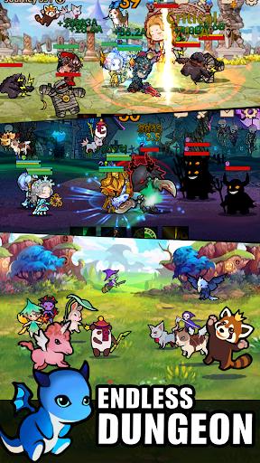 Télécharger Infinity Heroes : Idle RPG apk mod screenshots 5
