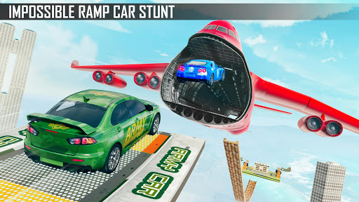 Mega Ramp Car Stunts 3D: Ramp Stunt Car Games apktram screenshots 13