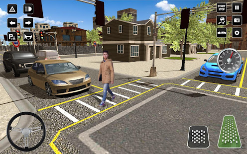 3D Driving School Simulator: City Driving Games 1.6 Screenshots 9