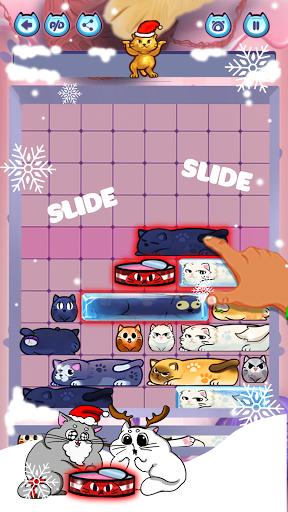 slide puzzle: train brain by solving cat challenge screenshot 2