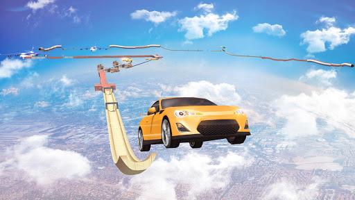 Mega Ramp Car Stunts Racing : Impossible Tracks 3D screenshots 14