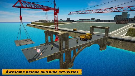 City Bridge Builder: Flyover Construction Game  screenshots 2