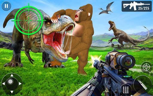 Wild Dino Hunt :Wild Animal Hunting Shooting Games  screenshots 7