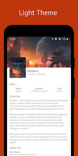 Free Games Radar for Steam, Epic Games, Uplay  Screenshots 5