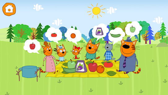 Kid-E-Cats: Picnic with Three Cats・Kitty Cat Games 7