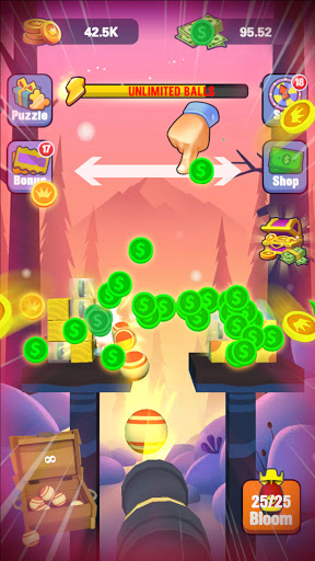 Knock Balls Mania - Win Big Rewards 2.2 screenshots 1