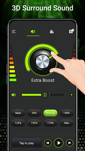 Volume booster - Sound Booster & Music Equalizer android2mod screenshots 3