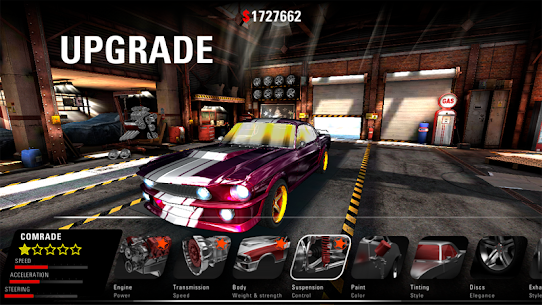 MUSCLE RIDER: Classic American Muscle Car 3D 1.0.14 Android Mod + APK + Data 3
