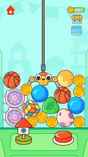 Dinosaur Claw Machine - Games for kids android2mod screenshots 2