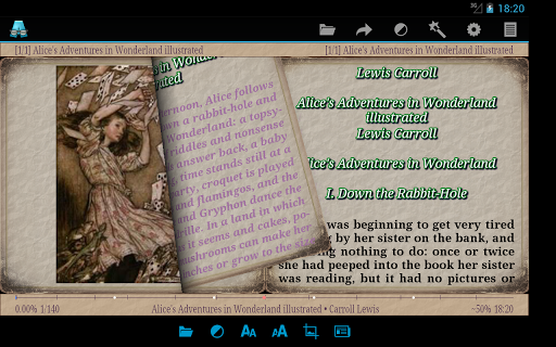 AlReader -any text book reader 1.931910300 Screenshots 17