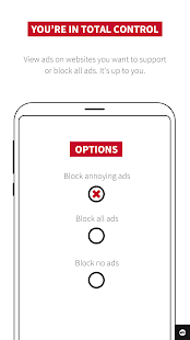 Adblock Plus para Internet de Samsung Screenshot