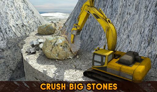 Hill Excavator Mining Truck Construction Simulator screenshots 15