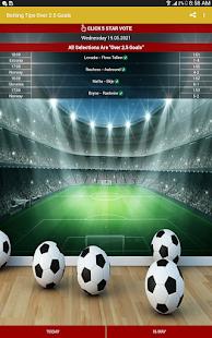 Betting Tips Over 2.5 Goals