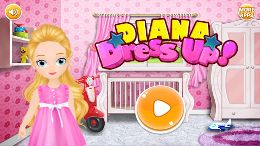 Diana Dress Up Games  screenshots 1