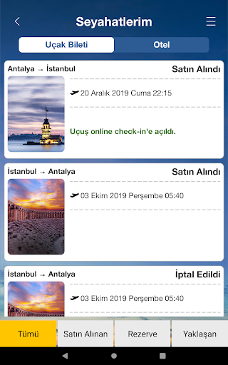 Ucuzabilet - Flight Tickets 3.1.8 Screenshots 22