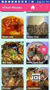 African Food Recipes 2020