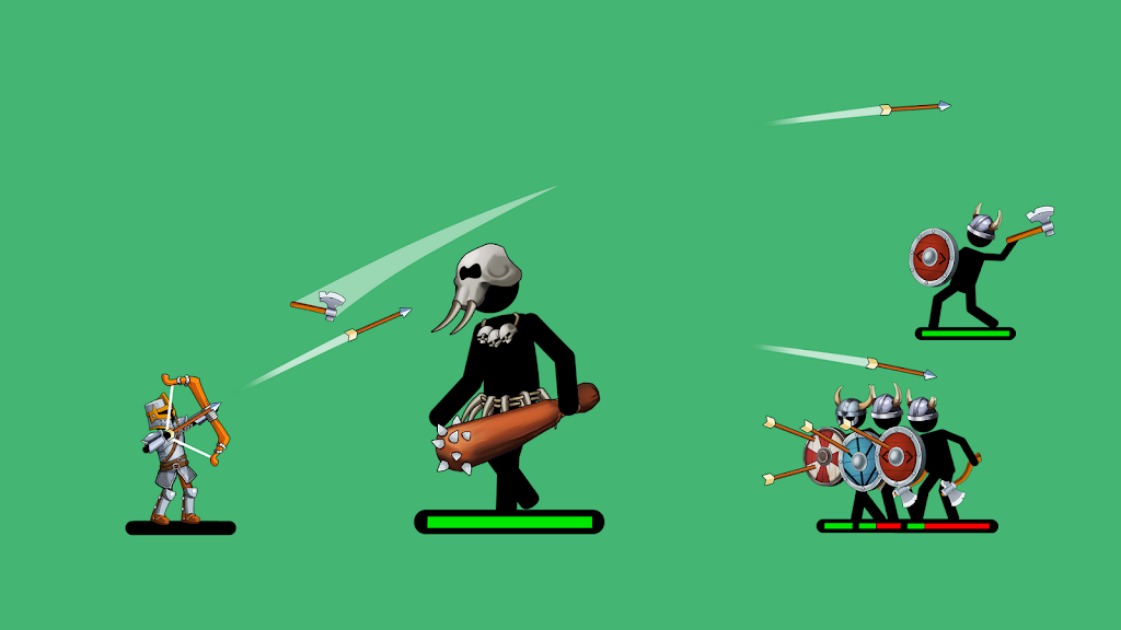 The Archers 2: Stickman Games for 2 Players or 1  poster 3