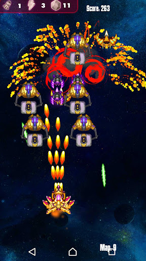 Télécharger gratuit Galatic Attack : Alien Shooter APK MOD 2