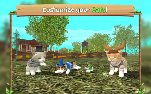 Cat Sim Online: Play with Cats 101 screenshots 5