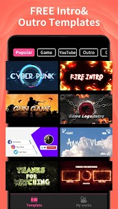 Free Intro Maker – Game Intro, Outro, Video Templates NEW 2021 **** 3