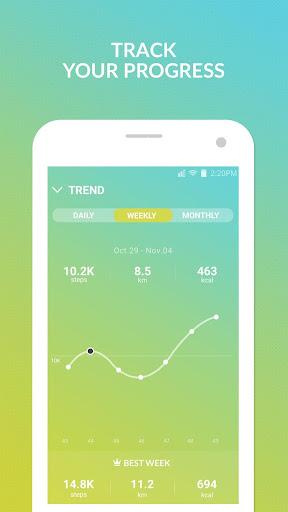 Pedometer winwalk - walk, sweat & win egift cards  Screenshots 3