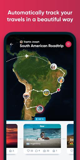 Polarsteps - Travel Planner & Tracker apktram screenshots 1
