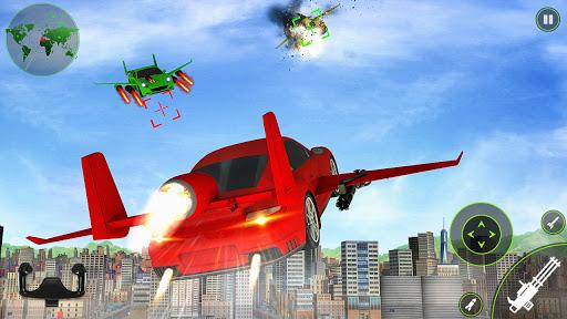 Flying car Shooting: Ultimate car Flying simulator 1.4 screenshots 2