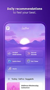 Sattva –  Meditation App Mod Apk v9.0.2 (Subscribed) 2