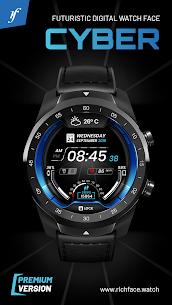 Cyber Watch Face 1