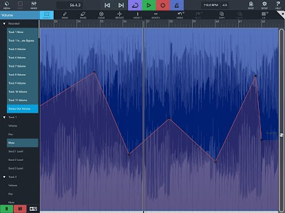 Cubasis 3 - Music Studio and Audio Editor Screenshot