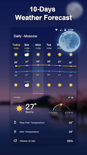 Weather Live - Accurate Weather Forecast 1.2.1 Screenshots 2