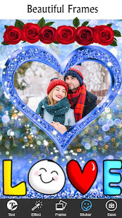 Romantic Photo Blending Frames: Love Frames Editor