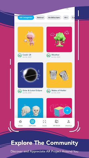Assemblr - Make 3D, Images & Text, Show in AR! 3.394 Screenshots 7