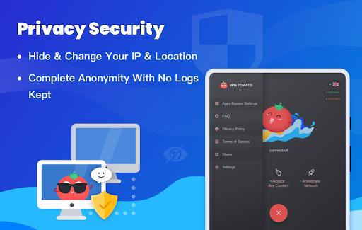 Free VPN Tomato | Fastest Free Hotspot VPN Proxy 2.6.500 screenshots 15