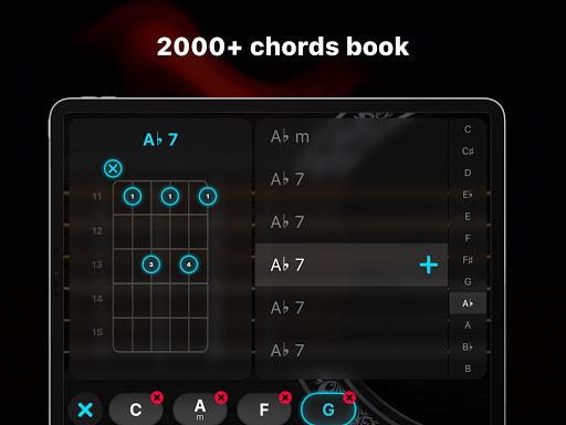 Guitar - play music games, pro tabs and chords! screenshots 15