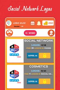 Logo Quiz : Guess the Logo game : Guess the Brand 2.7 Screenshots 11