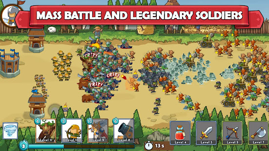 Clash of Legions mod apk