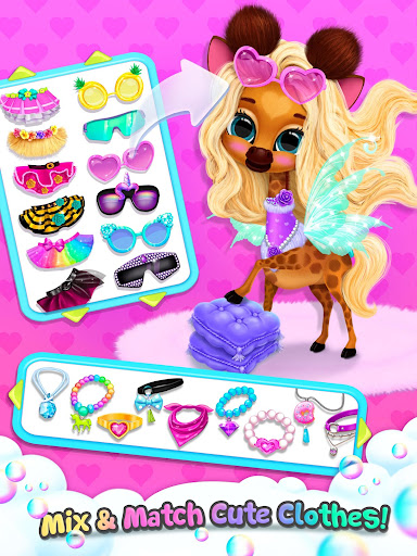 Kiki & Fifi Bubble Party - Fun with Virtual Pets  Screenshots 18