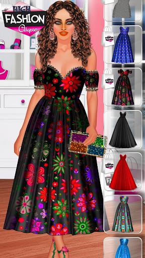 High Fashion Clique - Dress up & Makeup Game  screenshots 8
