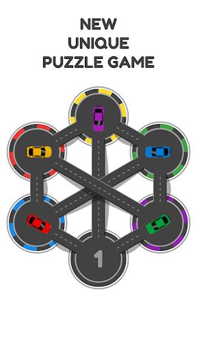 hexa parking - combination puzzle & brain training screenshot 1