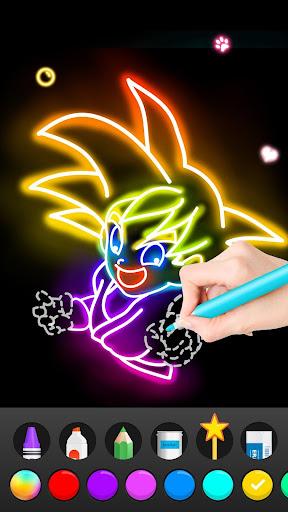 Draw Glow Comics 1.0.19 Screenshots 8