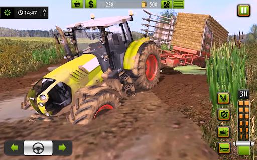 Supreme tractor farming - modern farm games 2021  screenshots 12