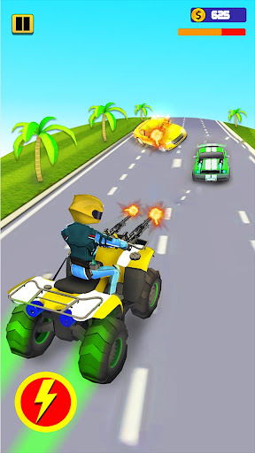Quad Bike Traffic Shooting Games 2020: Bike Games 3.1 screenshots 1